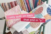 Quilting and Sewing Quotes / These quotes are something EVERY quilter and sewer can relate to!