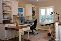 Home - Office Space / Office spaces and homework stations for the home