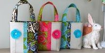 Sewing - Bags, Baskets, Buckets, & Covers / Sewing bags, baggies, baskets, buckets, binders, cases, covers, roll-ups, etc...