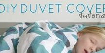Sewing - For the Home / Sewing duvet covers, pillow cases, curtains, pot holders, cozies, key chains, cushions, heating pads, rugs, etc.