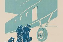 Vintage Airline's Posters