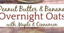 Overnight Oats / Tons of overnight oat recipes. Yum!