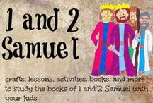 1 and 2 Samuel / 1 Samuel Bible activities for kids 2 Samuel Bible activities for kids / by Ticia Adventures in Mommydom