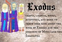 Exodus / ideas, activities, printables, and more to teach your kids about Moses and how God brought Israel out of Egypt in the Exodus / by Ticia Adventures in Mommydom