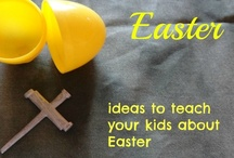 Easter activities for kids / Christ centered Easter activities  / by Ticia Adventures in Mommydom