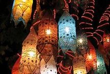 Lanterns Lights and Candles