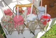Parties and Showers and Wedding Ideas / I love decorating for parties, wedding or baby showers and weddings, I couldn't decorate for a fancy wedding, but if it's country or rustic or a garden wedding, I have so many ideas. Come take a look at some of these great ideas. / by Carol Boyd