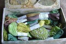 i love yarn and wool and thread