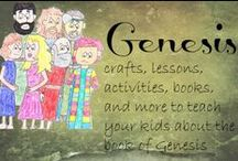 Genesis / Crafts, activities, and ideas for the book of Genesis / by Ticia Adventures in Mommydom