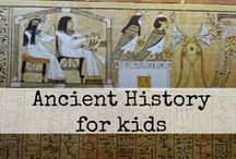 Mystery of History 1 / Mystery of History 1 activities Ancient history for kids Ancient history lessons, books, and crafts  / by Ticia Adventures in Mommydom
