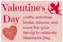 Valentine's Day for kids / Valentines day crafts for kids / by Ticia Adventures in Mommydom