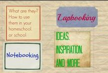 lapbooking and notebooking / Ideas for using lapbooking and notebooking in your school time / by Ticia Adventures in Mommydom