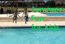 Summer activities for kids / Summer activities for kids / by Ticia Adventures in Mommydom