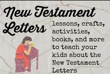 New Testament letters / New Testament activities for kids  fruit of the spirit crafts for kids Armor of God crafts for kids / by Ticia Adventures in Mommydom