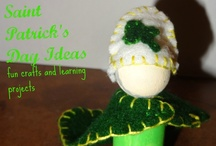 Saint Patrick's Day for kids / Saint Patricks day crafts for kids / by Ticia Adventures in Mommydom