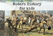 Mystery of History 4 / Mystery of History 4 activities Modern history for kids / by Ticia Adventures in Mommydom