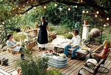 Patio and Garden Inspiration / by Katie Hall-Dengler