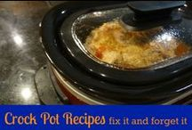 crock pot / Crock pot recipes / by Ticia Adventures in Mommydom