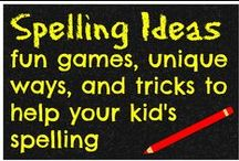 spelling ideas / spelling ideas to help your kids practice their spelling / by Ticia Adventures in Mommydom