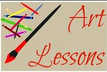 art lessons / Art lessons for elementary  / by Ticia Adventures in Mommydom