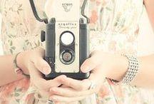 Vintage Cameras / Vintage Cameras / by Deux Brins de Maille | Knitting Designer