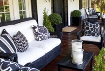 Outdoor Rooms / Beautiful outdoor spaces that expand your living spaces and inspire. / by Paige Spink