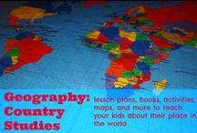 Geography country studies / Education and homeschool ideas to teach your kids country stories / by Ticia Adventures in Mommydom