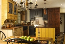 Early/ Prim Kitchens / by diantique