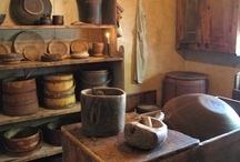 Firkins*Pantry Boxes*Buckets*Butter Churns / by diantique