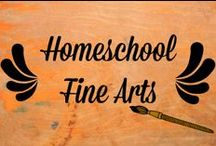 homeschool fine arts / Homeschool fine arts lessons / by Ticia Adventures in Mommydom