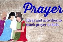 Bible- Prayer / Teaching kids how to pray Prayer stations / by Ticia Adventures in Mommydom