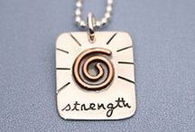 Inspirational Quotes on Jewelry / Aspire to Inspire before you Expire.