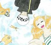 FanART / by Ayano Kuze | Hand Drawing | Watercolor