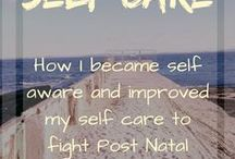 Self Care. Mental Health. Treatment. Therapy. Help. / Self care tips and education