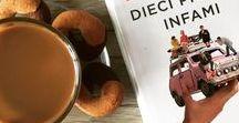 Le mie recensioni / Tutti i libri recensiti da La lettrice controcorrente, catturati in una fotografia. Non importa che sia a colazione, in treno, su una panchina o sotto le lenzuola... l'importante è leggere