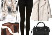 Outfits. Autumn. Fall. Clothing. / Clothing ideas for fall autumn and winter.