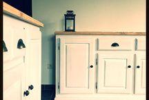 Rénovation meuble - idées Déco / Des idées de rénovation de meubles, déco... une nouvelle vie pour vos meubles! Idées originales, de tous styles!