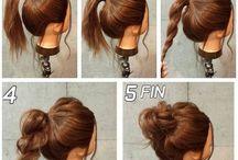 Hair Styles ( Wacky hair , Step by Step, ect..)