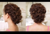 Curly Hair Styles / by Cia
