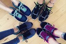Happy Feet / If the shoe fits, buy it in every color! Here are the shoes that inspire us to get fit and be happy.