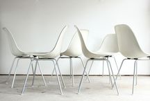 Eames / Selection of nice colors & combinations Eames chairs