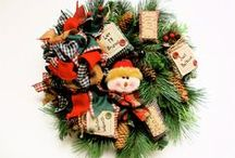 Wreaths/Swags/Mailbox Decorations / by Rose Moerschel