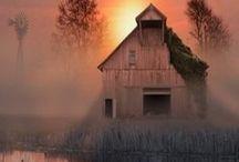 Barns & churches / by Rachel Condray Greer