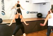 Our Classes / Fresh body pulsing music and new moves keep you psyched to sweat! Instructors train every year to master the Jazzercise method, which fuses cardio, resistance training, Pilates, yoga, kickboxing and, of course, the demanding forms of dance.