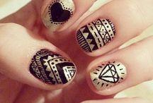 Nails. / Nail polish art.