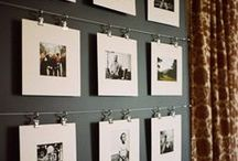 Photo Displays // Lindsey Mueller Photography / Looking for some inspiration for those wedding or session prints? With a degree in interior design, Lindsey is here to help. Here are some great ideas for you from Lindsey Mueller Photography!