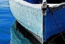 Blue. / My favourite colour. Blue bliss.