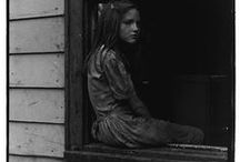 """Appalachia In Black And White / Strangers come to write my story, They think my mountain ways are strange, They're gonna tell the world about me, But they can't even pronounce my name."""" - Appalachia is My Name- Alan Johnston  / by Peggy Crump"""