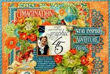 Graphic 45 Projects /  DIY Layouts, Cards, Tags, 3-D, Off the Page