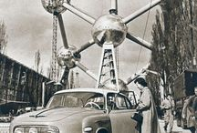 ATOMIUM / Brussels World's Fair (1958) With the slogan A world view – a new Humanism, Expo'58 was the first of its kind after the Second World War. Its design was the responsibility of engineer, André Waterkeyn (1917-2005). The interior of the spheres were realised by the architects André and Jean Polak.